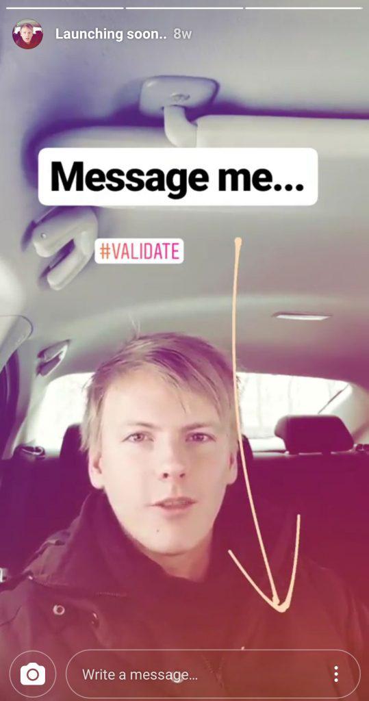 پیام در استوری