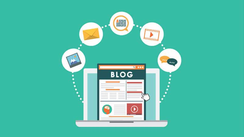 ایجاد بلاگ