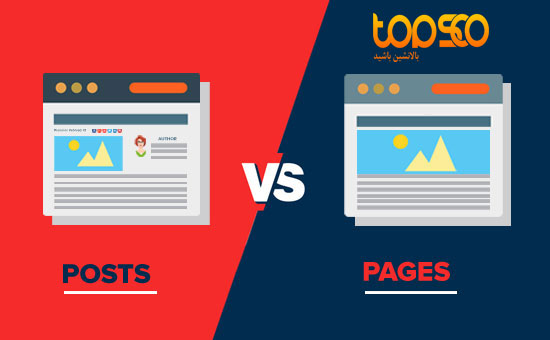 post and page in wordpress