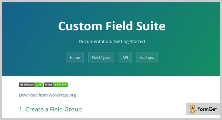 ویراشگرCustom Field Suite
