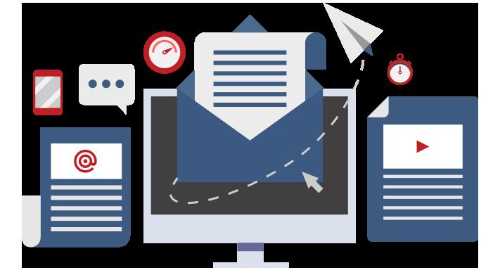 ویژگی های ایمیل مارکتینگ