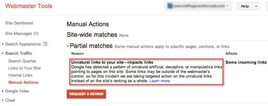 لینک های غیر عادی به سایت شما