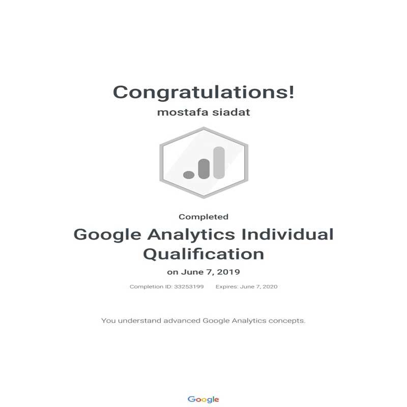 مدرک گوگل