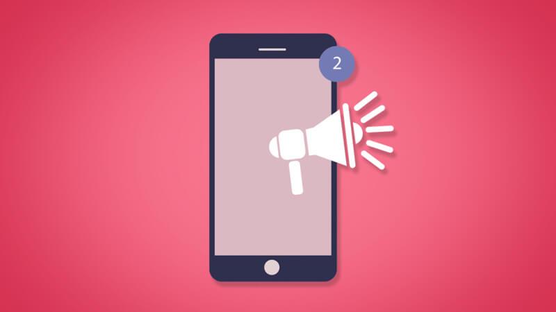 افزایش نصب اپلیکیشن با پوش نوتیفیکیشن