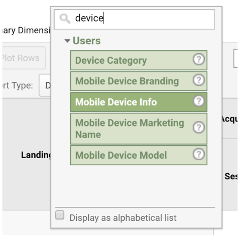 device category