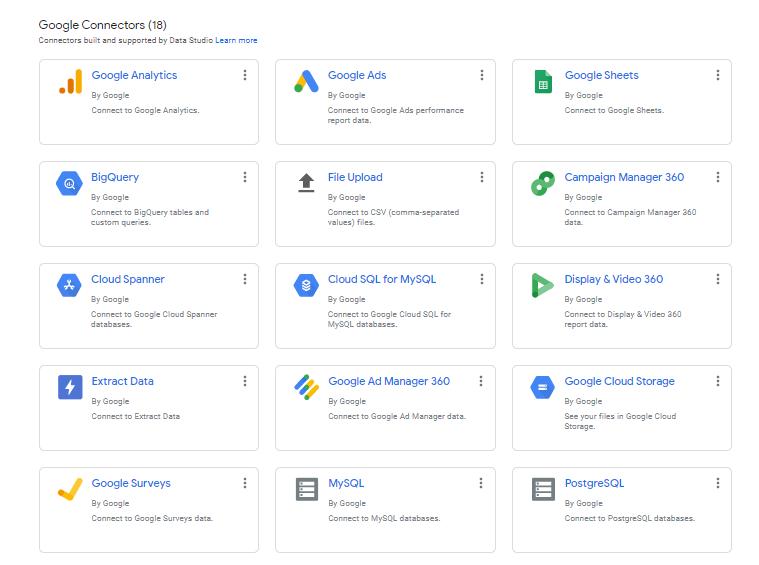 اتصال سرویس ها به گوگل دیتا
