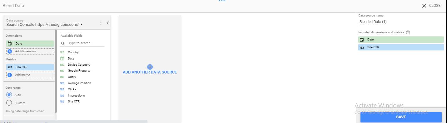 مرحله 31 اجرای گوگل دیتا استودیو